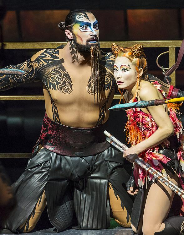 Cirque du Soleil and Blue Man Group to Perform on Ice During Two Intermission Performances at Vegas Golden Knights Game Dec. 22