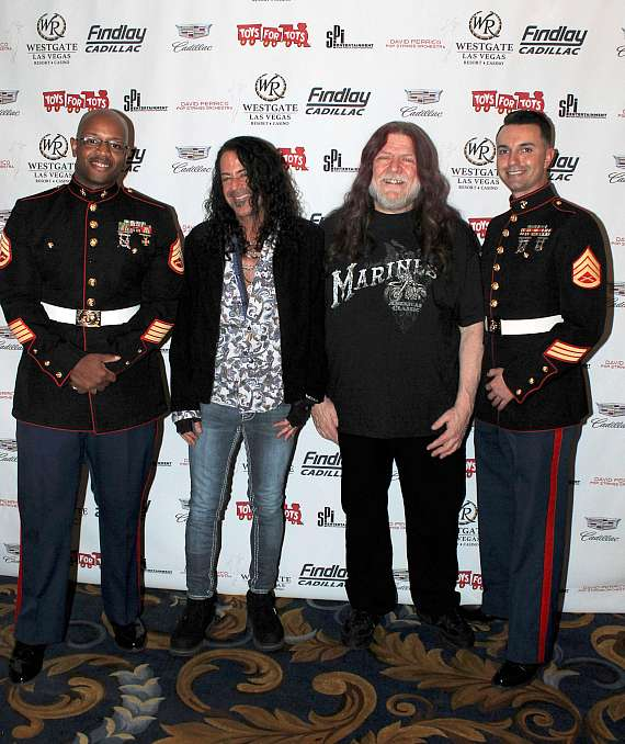 "The 10th Annual U.S. Marine Corps ""Toys for Tots"" Charity Benefit at Westgate Las Vegas"