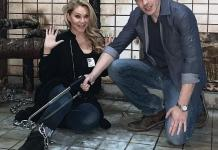 Playboy Model, Reality TV Star and Miss USA Winner Shanna Moakler Visits Official Saw Escape Room Experience in Las Vegas