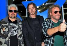 Rock Icon Sammy Hagar and Rick Springfield Celebrate Reinvention of the STRAT Hotel, Casino & Skypod