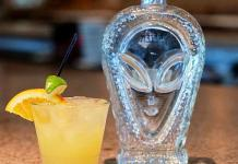 Sip Into Another Dimension On National Tequila Day With An Organic Alien Margarita at Siena Italian
