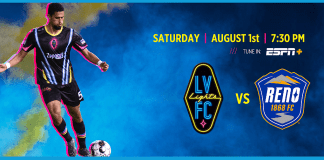 Lights FC Return to Cashman Field for First Home Match in Nearly Ten Months