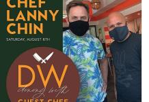 DW Bistro Launches the Dining With Guest Chef Series August 8 With Chopped Champion Lanny Chin