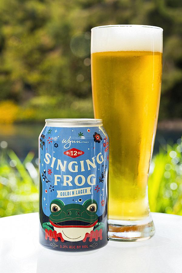 """Wynn Las Vegas Partners with Tenaya Creek Brewery to Launch """"The Singing Frog"""" Lager"""