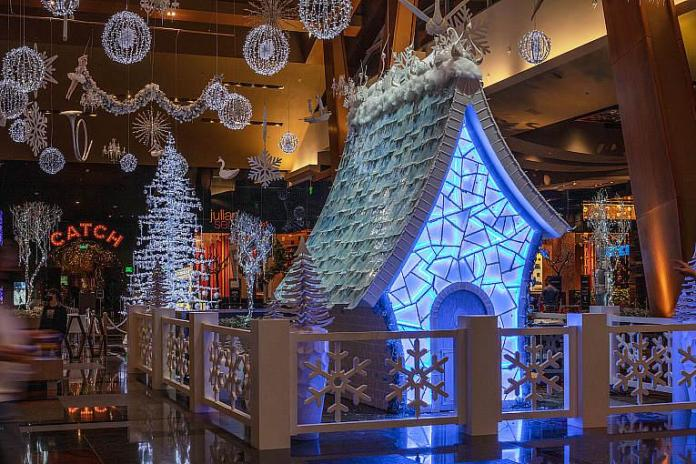 ARIA Winter Wonderland Lights Up Holiday Season