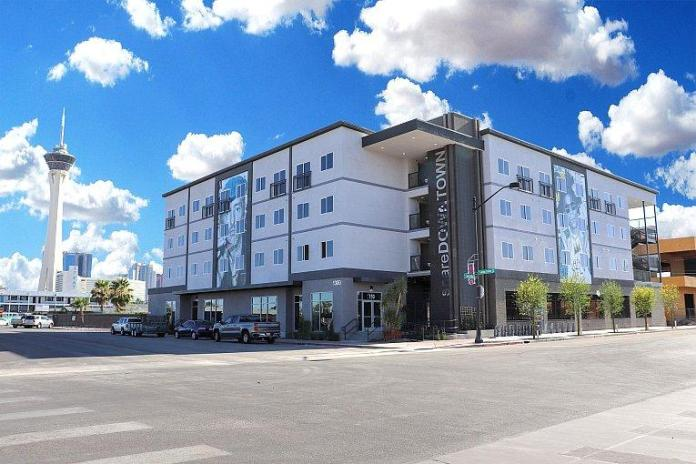 Las Vegas Arts District New Apartment Complex ShareDOWNTOWN Wins Award for Best Residential Multifamily Project
