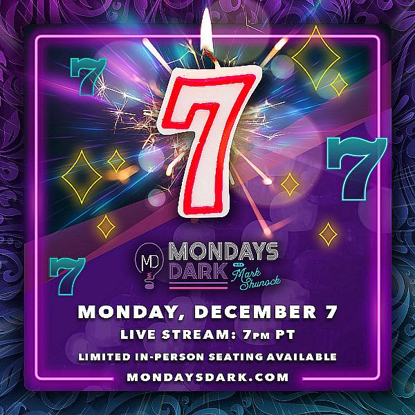 Lucky Sevens Hit Big for Local Charities! Mondays Dark Turns 7 on December 7 at 7 p.m.
