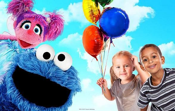 """Tickets on Sale Now for """"Sesame Street Live! C is for Celebration"""", an Interactive Stage Production in Las Vegas"""