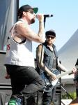 Good Charlotte performs at IndyCar Fan Zone Verizon Stage at Mandalay Bay