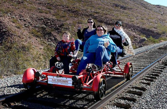 Rail Explorers Celebrates Fourth of July With Family-Friendly Event