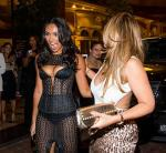 Evelyn Lozada (r) with daughter Shaniece Hairston