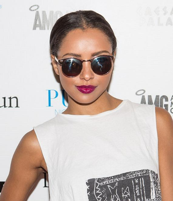 Kat Graham of 'The Vampire Diaries' Performs Live at PURE Nightclub