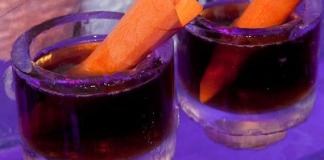Carrot Top's signature drink, the Heat Miser