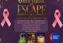 Once Upon An Escape Benefits Local American Cancer Society for Breast Cancer Awareness Month