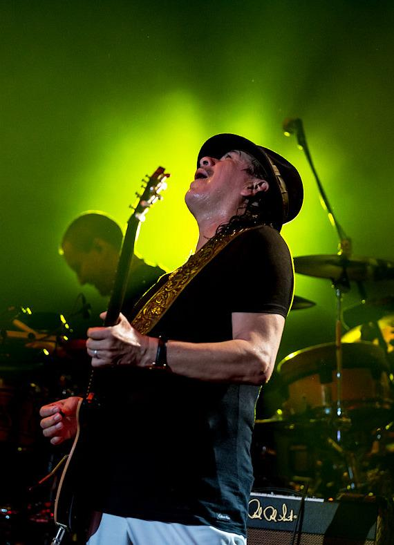 Carlos Santana Performs in Columbia, Maryland