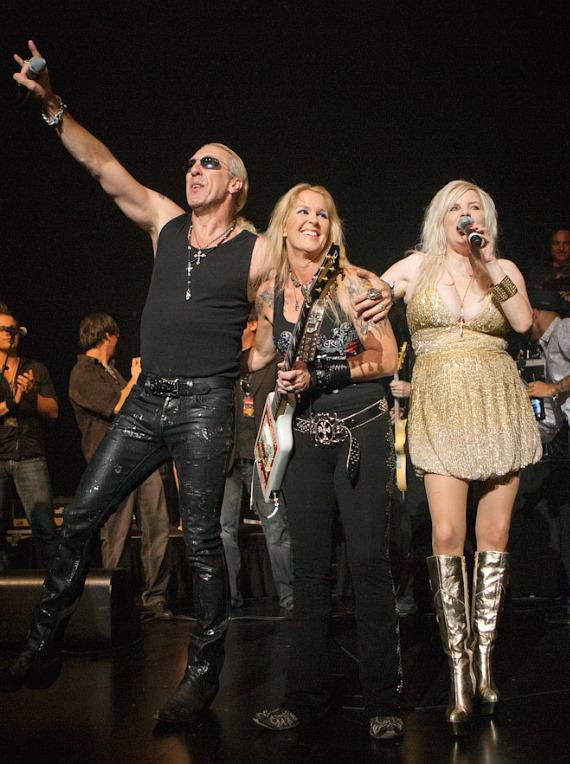 Dee Snider and Lita Ford