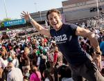 Actor Mark Feuerstein at Desert Pines High School in Las Vegas