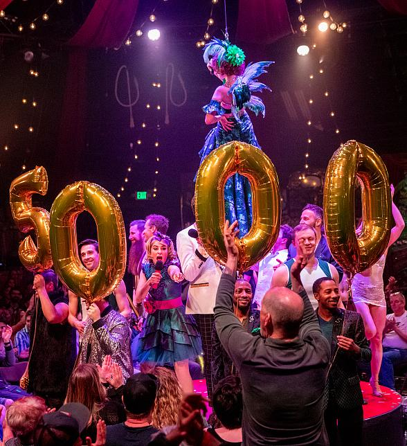 ABSINTHE Celebrates 5,000 Shows at Caesars Palace in Las Vegas