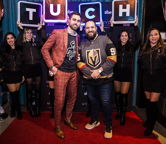 "Alex Tuch Hosts Post-Game Party at Hyde Lounge at T-Mobile Arena Alongside Wayne ""Big D"" Danielson"