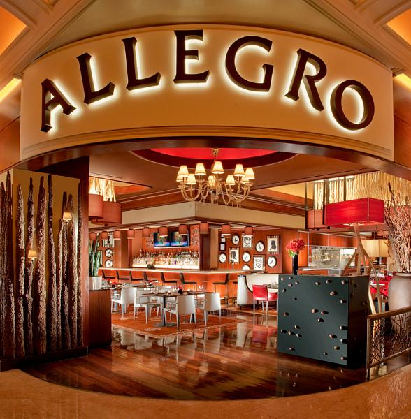 Allegro Introduces New Pizza Bar Happy Hour