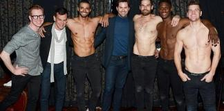 "Recording Artist Andrew Rannells Attends ""Magic Mike Live"" at Hard Rock Hotel Las Vegas"