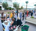 Attendees line up for 2018 style with a cause (Credit_ Amit Dadlaney)