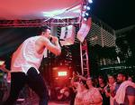Russell Dickerson Performs at Flamingo GO Pool's Country Concert Series with 95.5 The Bull