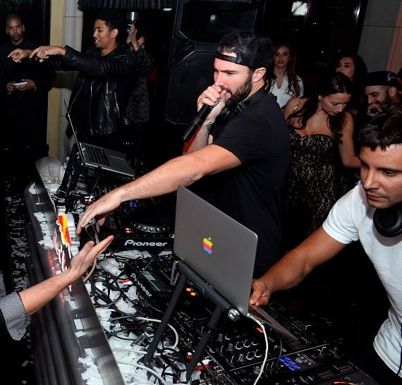 Brody Jenner and Omarion Kick Off New Year's Eve Celebrations at Hyde Bellagio