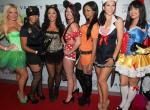 Cast of The Bad Girls Club at Vanity Nightclub