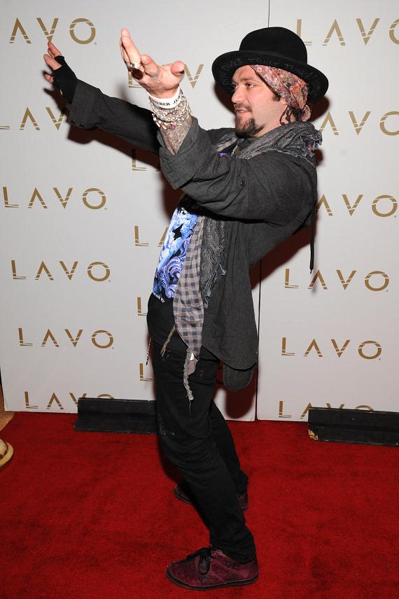 Bam Margera at LAVO