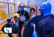 "Experience Blue Man Group's ""Wax Shack"" Now On Display at Luxor Las Vegas"