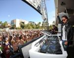 DJ Bob Sinclar performs at WET REPUBLIC in Las Vegas
