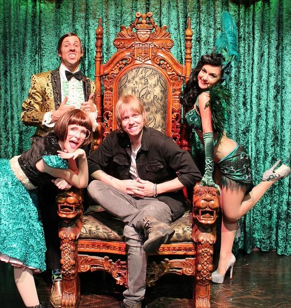 Lifehouse Bassist Bryce Soderberg Attends ABSINTHE at Caesars Palace