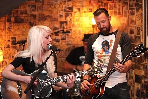 Carrie Megan Gross and Ben Carey Perform at Commonwealth