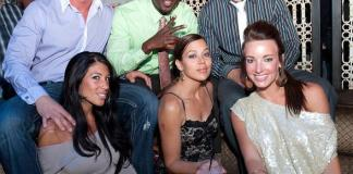 Cast of VH1 Tough Love Couples at LAVO