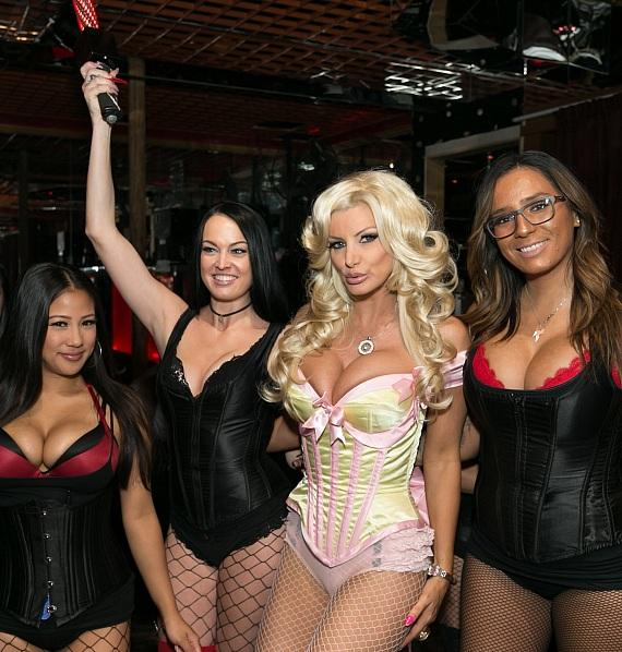 Adult Film Star and Playboy Model Brittany Andrews Celebrates Birthday at Crazy Horse 3 in Las Vegas