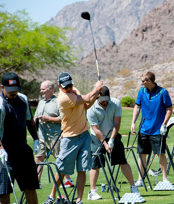 The Mario Batali Foundation Presents Swing Session Las Vegas Celebrity Golf Classic