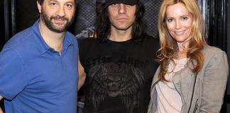 Comedy Duo Judd Apatow & Leslie Mann Visit CRISS ANGEL Believe by Cirque du Soleil