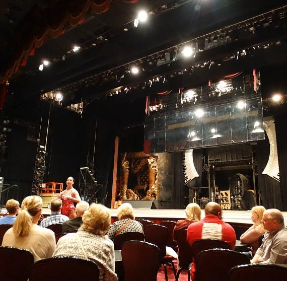 Magician Murray SawChuck and Set Designer Andy Walmsley tour Jubilee one last time
