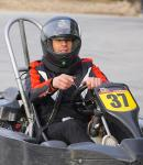 Mike Hammer in Go Kart