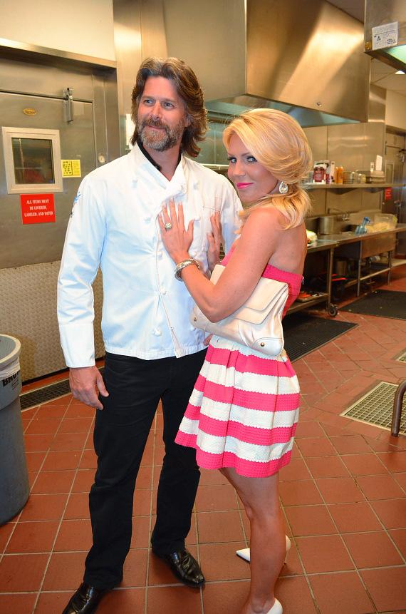 Gretchen Rossi and Slade Smiley at Las Vegas High Roller