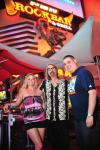 "Christina ""CC"" Christensen, P. Moss and Robert Blasi at PBR Rock Bar in Las Vegas"