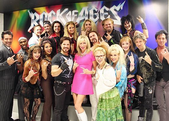 """'80s Pop Icon Debbie Gibson Attends """"Rock of Ages"""" at The Venetian Las Vegas"""