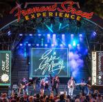 Eddie Money takes over Fremont Street Experience during Downtown Rocks, 7.21.18