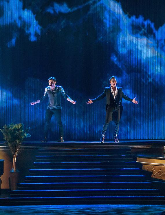 """SHOW PHOTOS: """"BAZ - Star Crossed Love"""" Dazzles with VIP Celebration at The Palazzo Las Vegas"""