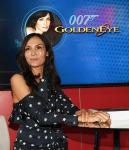 Actress and 'Bond' girl Famke Janssen joins with Scientific Games to reveal three new titles in the company's JAMES BOND series of games, including DIE ANOTHER DAY, GOLDENEYE and LIVE AND LET DIE at the Global Gaming Expo