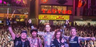 Buckcherry Returns to Fremont Street Experience with Electrifying Downtown Rocks Performance