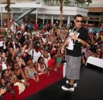 "French Montana holds center stage at ""Ditch Fridays"" at Palms Pool."
