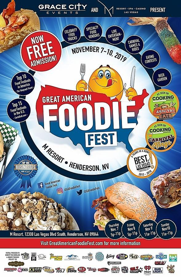 Great American Foodie Fest Makes Its Debut at the M Resort Spa and Casino with FREE Admission to the Public!
