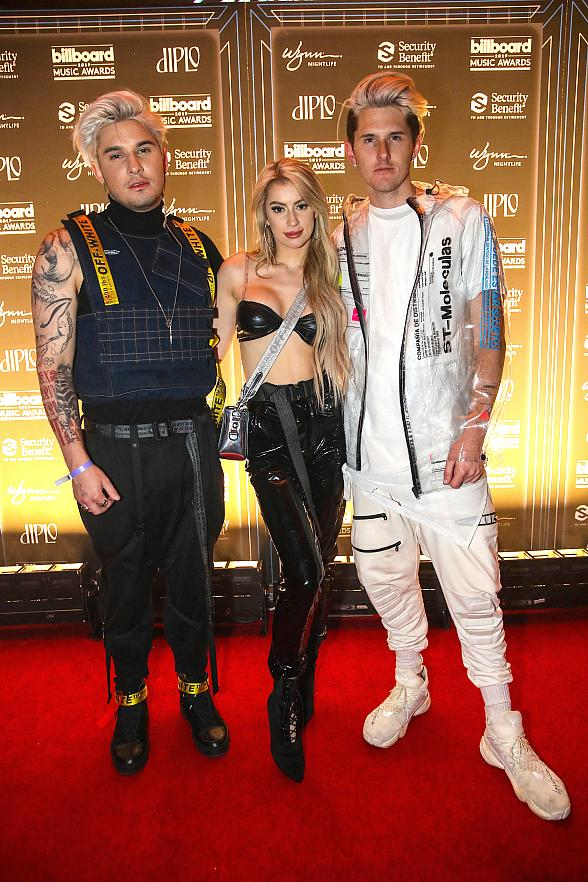 """Diplo, Bazzi, Lil Jon, Tori Kelly, Grey, Chantel Jeffries, Halsey Party at Encore Beach Club's """"2019 Billboard Music Awards Official After Party"""""""